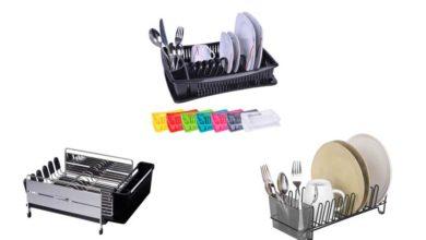 Abtropfgestell für Geschirr und Besteck