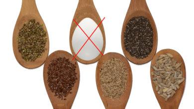 Ei-Ersatz für veganes Kochen und Backen