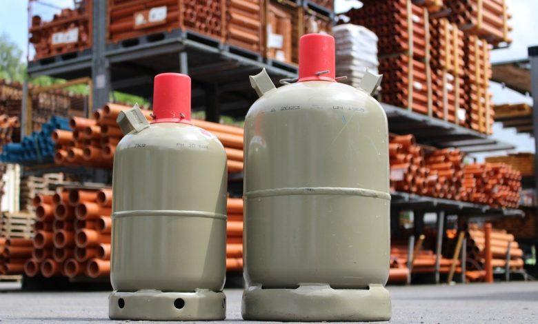 Gasflaschen für den Gasgrill