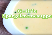 Geniale Spargelsuppe aus Thermomix