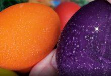 Glitzer Eier im Thermomix für Ostern