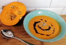 Photo of Kürbissuppe mit Kokosmilch Thermomix Rezept
