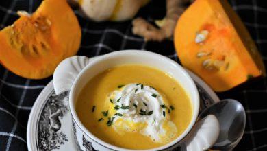 Kürbissuppe - schnell & vegetarisch