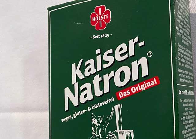 Der Klassiker in der Küche - Kaiser Natron