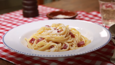 Photo of Rezept: klassische Spaghetti Carbonara