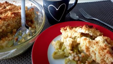 Photo of Rhabarber Crumble Thermomix® Rezept