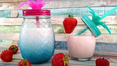Sommer Sonne Erdbeeren Shake Thermomix®