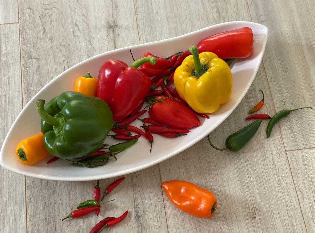 Unterschied zwischen Chili und Peperoni