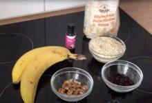 Vegane Haferflocken Bananen Kekse