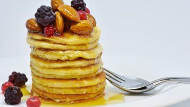 Bild vonVegane Pfannkuchen Rezept – vegane Pancakes Rezepte