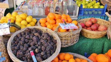 Frisches Obst auf dem Viktualienmarkt