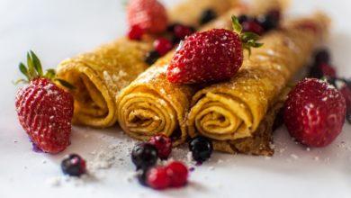 Bild von Pancakes mit Beeren - Pancakes Rezepte