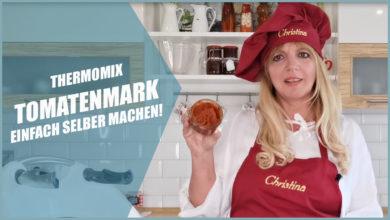 Einfaches Tomatenmark Thermomix® mit frischen Tomaten