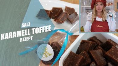 Salz Karamell Toffee Rezept Thermomix deutsch ohne raffinierten Zucker